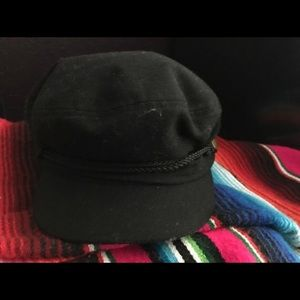 Black Sailor Cap